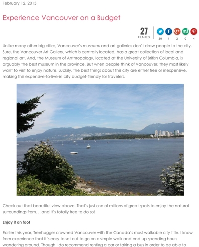 experience vancouver on a budget